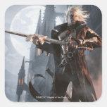 Magia: La reunión - ascensión oscura (Sorin) Pegatina Cuadrada