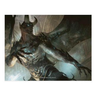 Magia: La reunión - demonio Runa-Marcado con una Postal