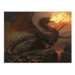Magia: La reunión - dragón de Flameblast Postal