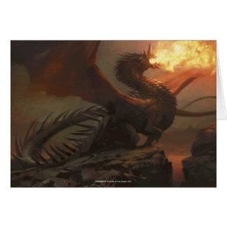 Magia: La reunión - dragón de Flameblast Tarjeta De Felicitación