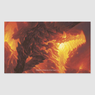 Magia: La reunión - dragón volcánico Rectangular Altavoces