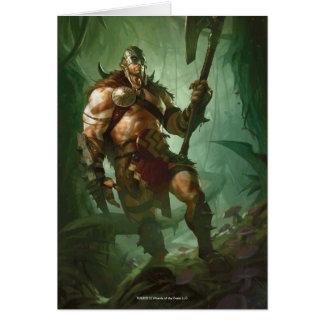 Magia: La reunión - Garruk, cazador principal Tarjetón
