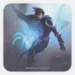 Magia: La reunión - Jace, adepto de la memoria Pegatina Cuadrada
