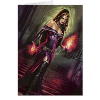 Magia: La reunión - Liliana del velo Tarjeta De Felicitación