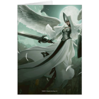 Magia: La reunión - supervisor angelical Tarjeta De Felicitación