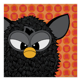Magia negra Furby Poster
