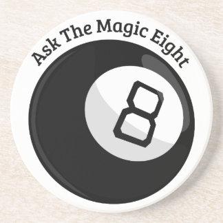 Magia ocho posavasos personalizados