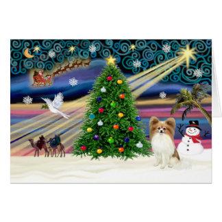 Magia-Papi-cervatillo de Navidad Felicitaciones