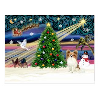 Magia-Papi-cervatillo de Navidad Tarjeta Postal
