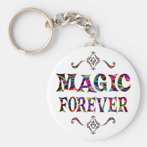 Magia para siempre llaveros personalizados