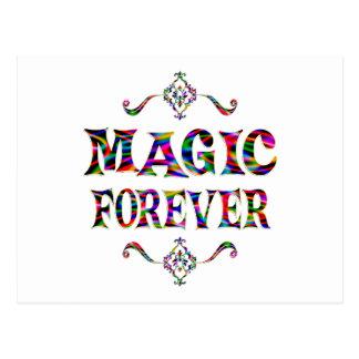 Magia para siempre tarjetas postales