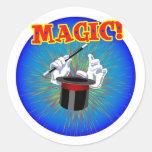 Magia - pegatina grande