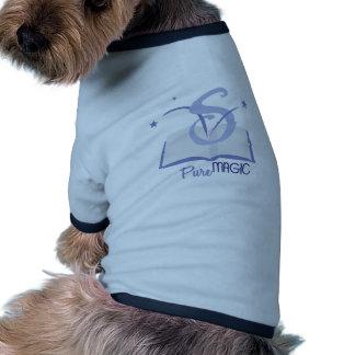 Magia pura camiseta con mangas para perro