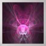 Magia rosada - poster