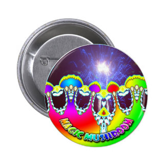 magia-seta-fuegos artificiales pin redondo 5 cm