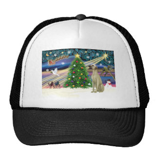 Magia-Sloughi de Navidad Gorras