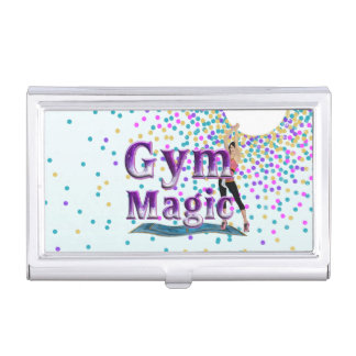 Magia SUPERIOR del gimnasio Cajas De Tarjetas De Negocios
