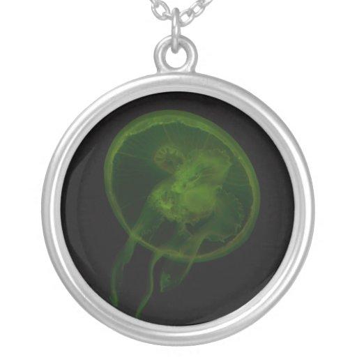 Magia verde de las medusas joyerias personalizadas