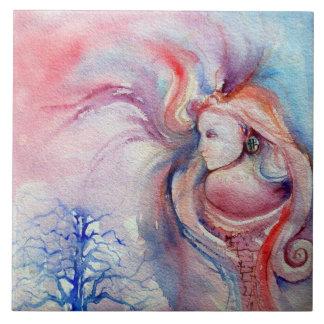 Magia y misterio de AVALON Azulejo Cuadrado Grande