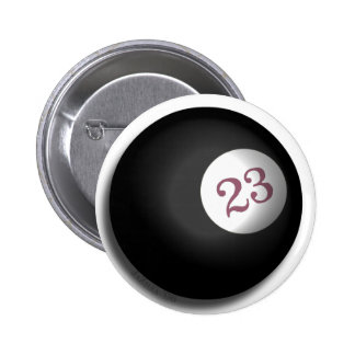 Magic 23 Ball of Chaos Theory 2 Inch Round Button