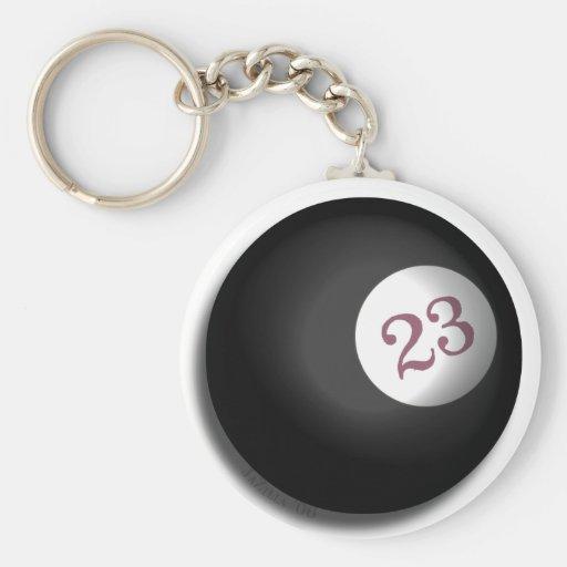Magic 23 Ball of Chaos Theory Keychain