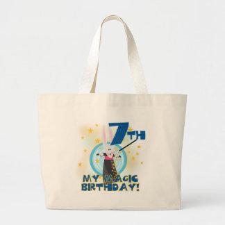 Magic 7th Birthday Tshirts and Gifts Tote Bag