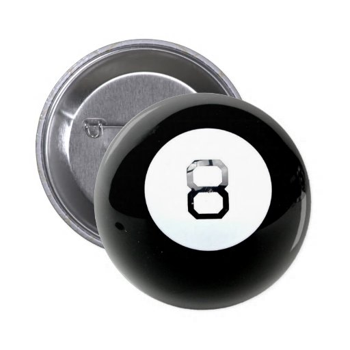 Magic 8 Ball Button