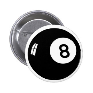 Magic 8 Ball Pinback Button