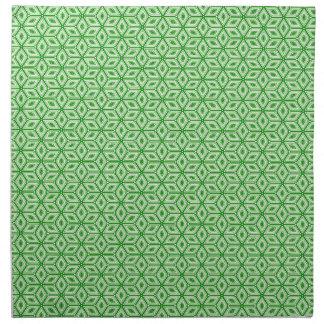 Magic Abstracts Green Cloth Napkin