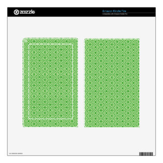 Magic Abstracts Green Kindle Fire Skins