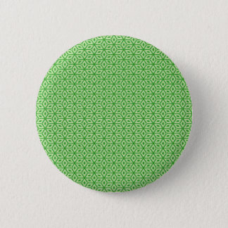 Magic Abstracts Green Pinback Button