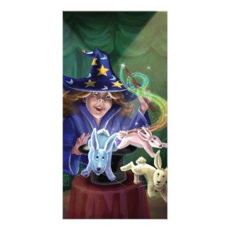 Magic Act Photo Card