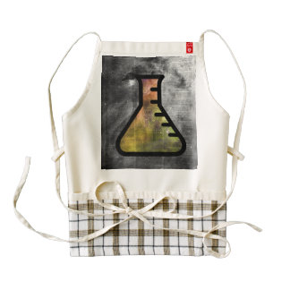 Magic Alchemy Vial over  Dictionart page Zazzle HEART Apron