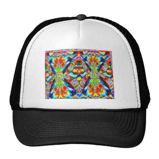 Magic alien patterns trucker hat