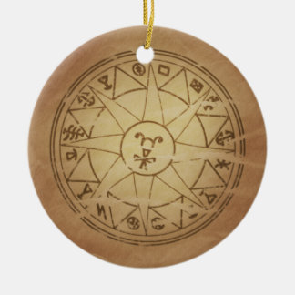 Magic Amulet for Safe Travel Magic Charms Ceramic Ornament
