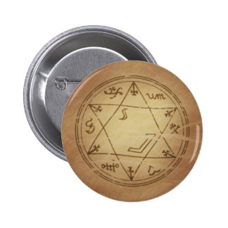 Magic Amulet for Successful Business Magic Charms Pinback Button