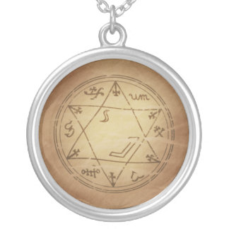 Magic Amulet for Successful Business Magic Charms Round Pendant Necklace