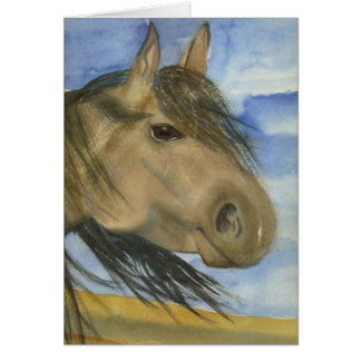 Magic, An American Mustang - Notecard Greeting Cards