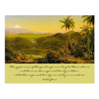 magic and beauty postcard