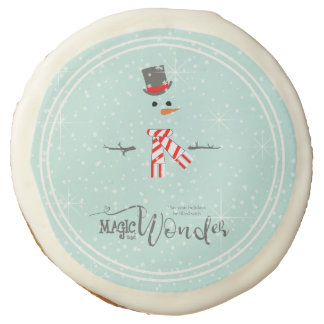 Magic and Wonder Christmas Snowman Mint ID440 Sugar Cookie