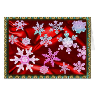 Magic and Wonder of Snow Flakes #2 Card