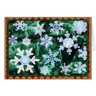 Magic and Wonder of Snow Flakes #5 Card