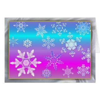 Magic and Wonder of Snow Flakes #6 Card