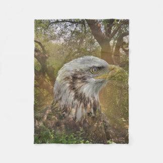 Magic Animals HAWK Fleece Blanket