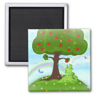 Magic appel 2 inch square magnet