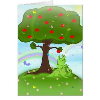Magic appel card