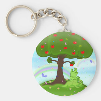 Magic appel keychain