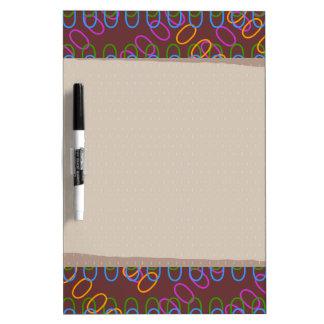 MAGIC ART: go EDIT, choose DARK BACKGROUND color Dry Erase Board