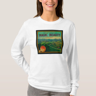 Magic Beauty Orange LabelPorterville, CA T-Shirt