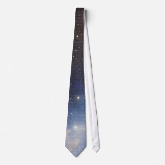 Magic Beer Space over Dictionary book page Neck Tie